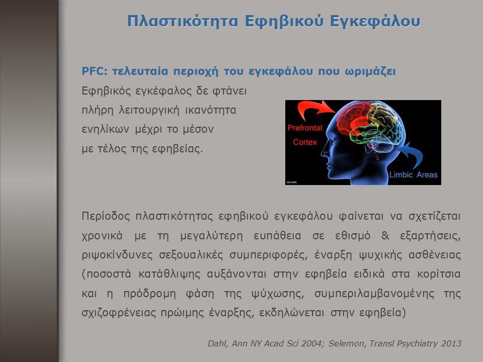 Πλαστικότητα Εφηβικού Εγκεφάλου