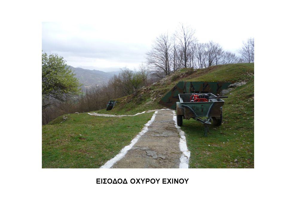 ΕΙΣΟΔΟΔ ΟΧΥΡΟΥ ΕΧΙΝΟΥ