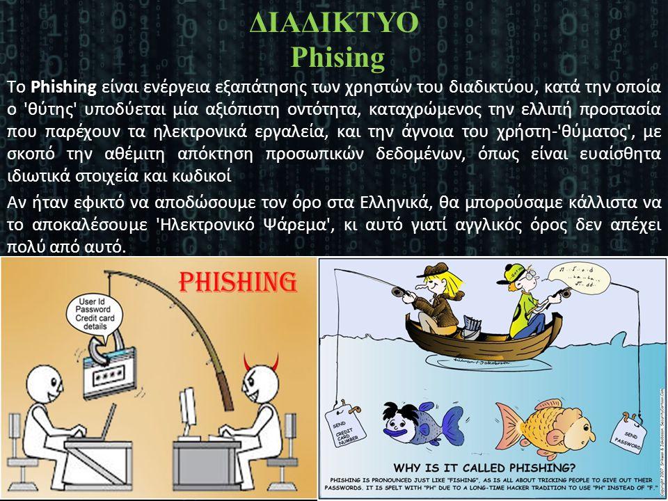 ΔΙΑΔΙΚΤΥΟ Phising
