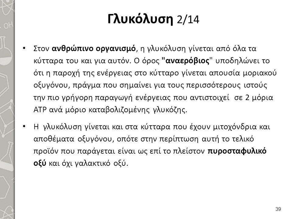Γλυκόλυση 3/14