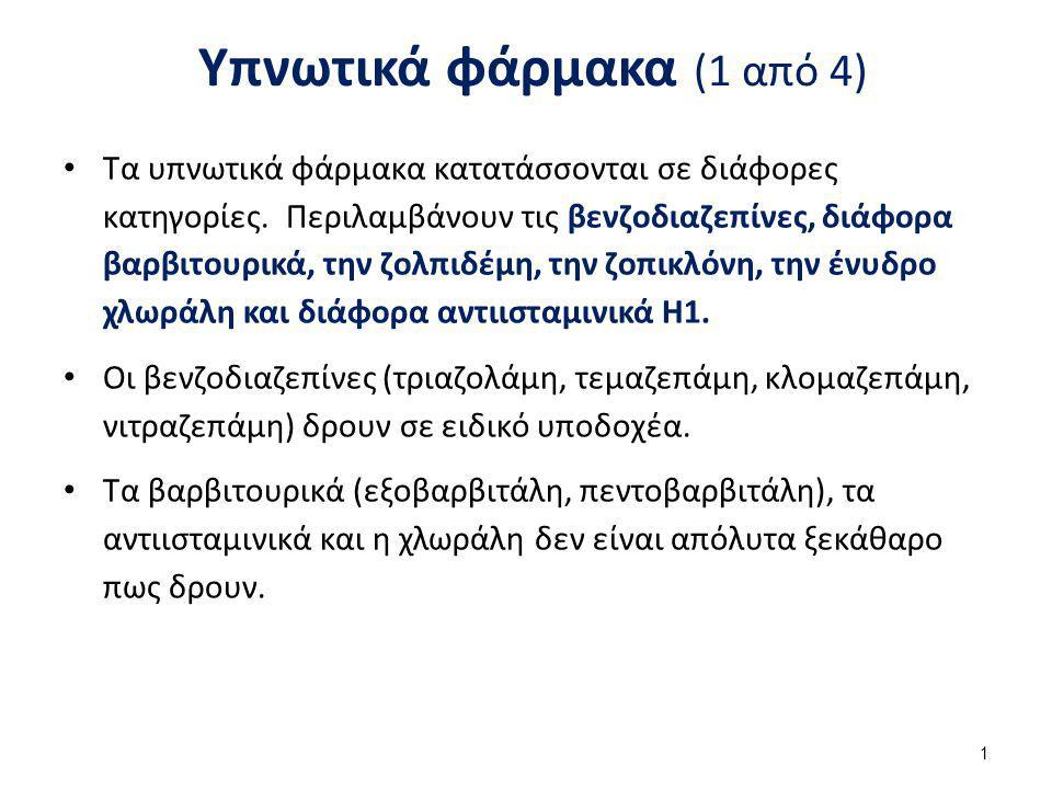 Υπνωτικά φάρμακα (2 από 4)