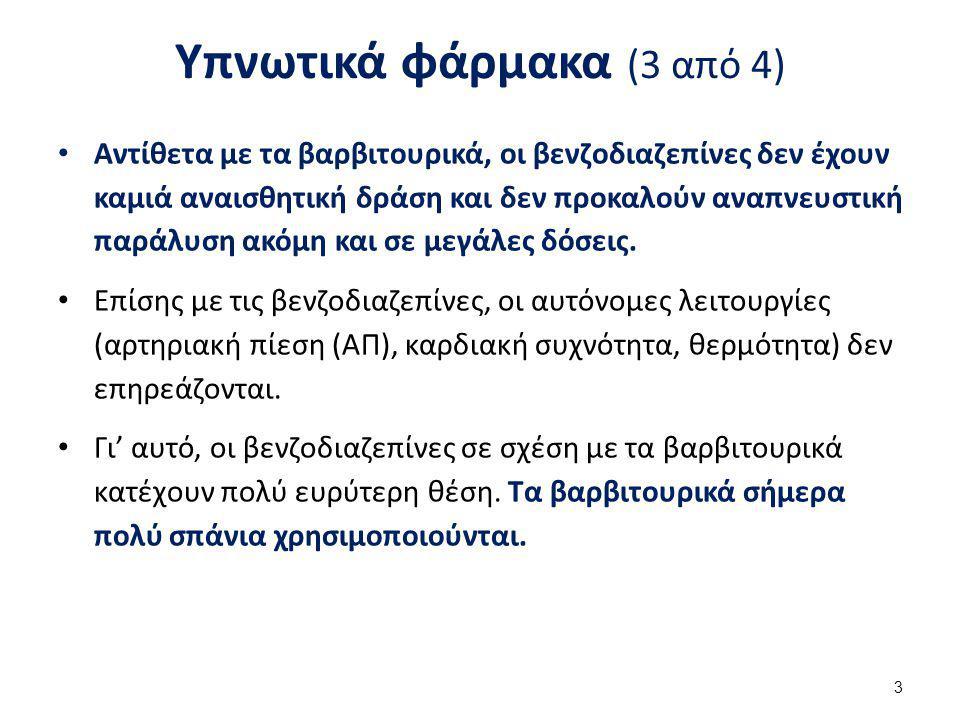 Υπνωτικά φάρμακα (4 από 4)