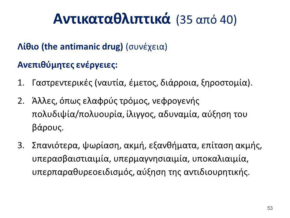 Αντικαταθλιπτικά (36 από 40)