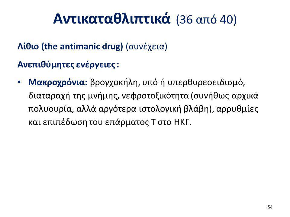 Αντικαταθλιπτικά (37 από 40)