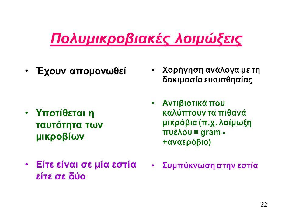 Πολυμικροβιακές λοιμώξεις