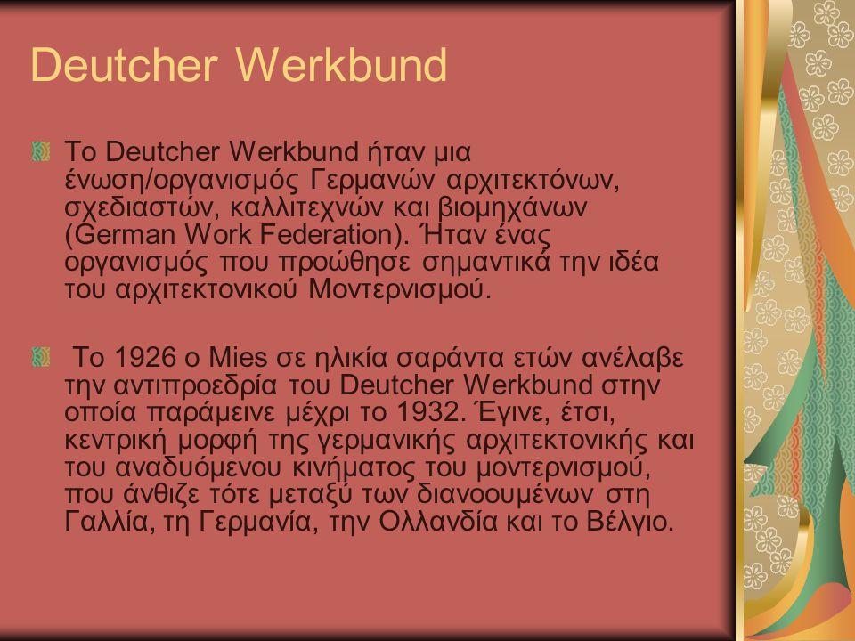 Deutcher Werkbund