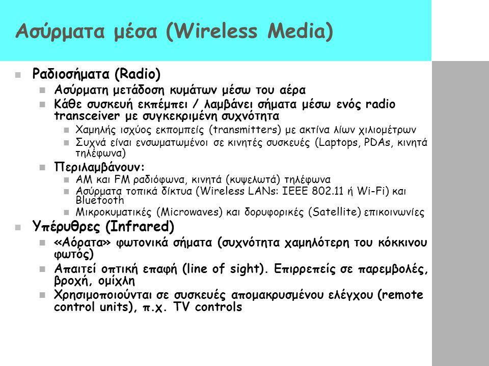 Ασύρματα μέσα (Wireless Media)