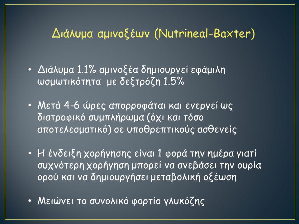 Διάλυμα αμινοξέων (Nutrineal-Baxter)