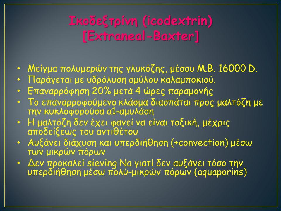 Ικοδεξτρίνη (icodextrin)