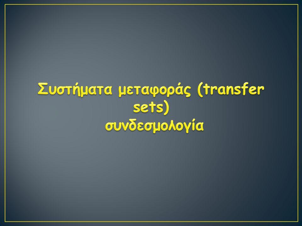 Συστήματα μεταφοράς (transfer sets)
