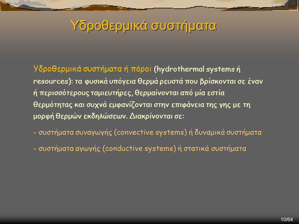 Υδροθερμικά συστήματα