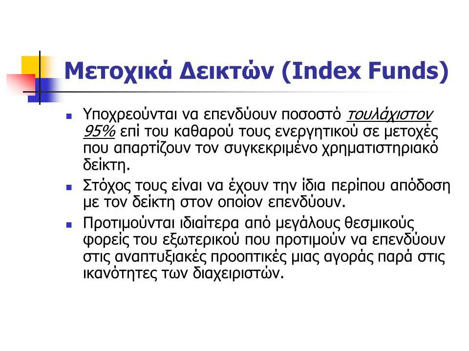 Μετοχικά Δεικτών (Index Funds)