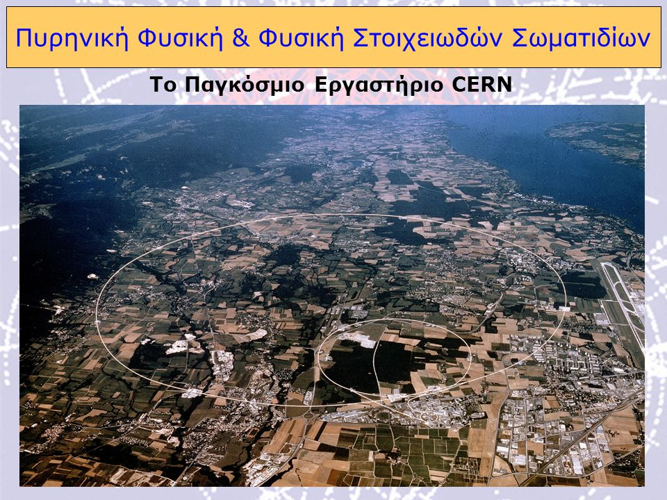 Πυρηνική Φυσική & Φυσική Στοιχειωδών Σωματιδίων
