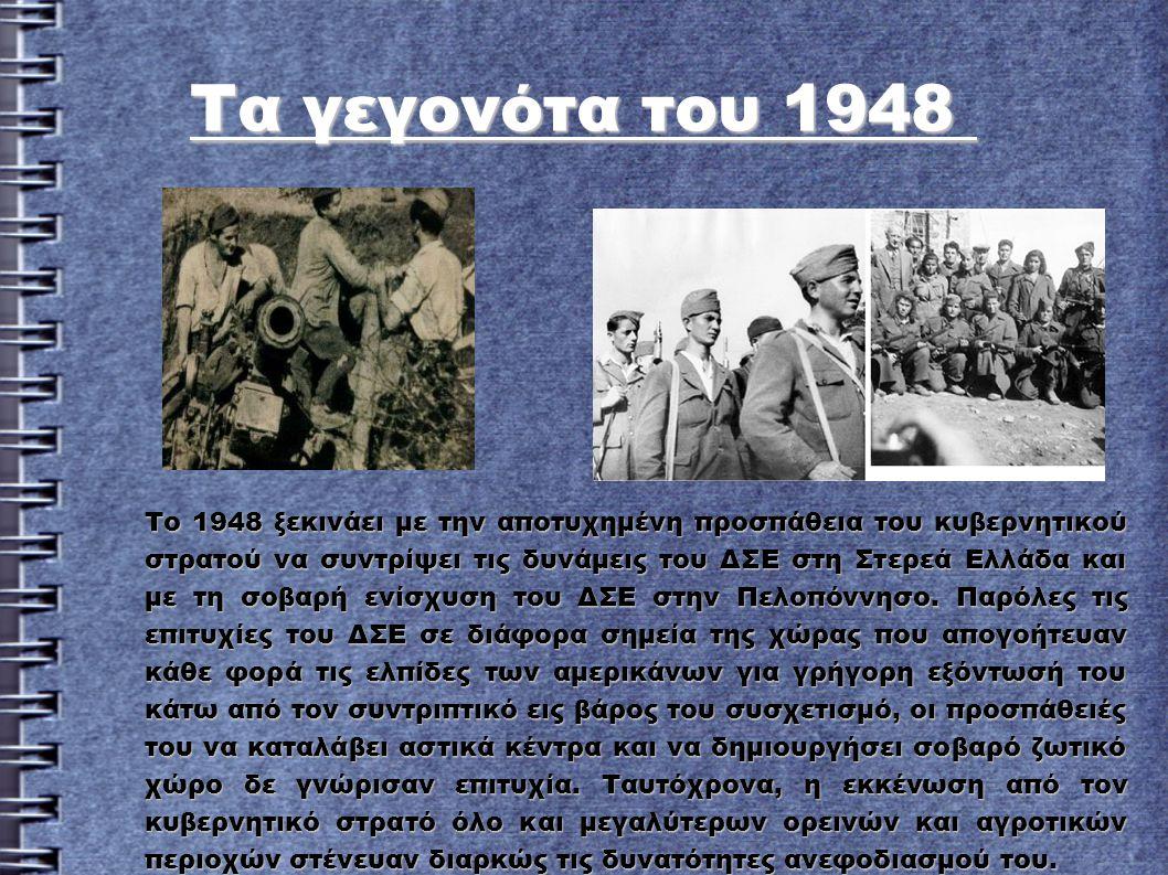 Τα γεγονότα του 1948