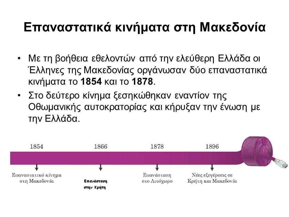 Επαναστατικά κινήματα στη Μακεδονία