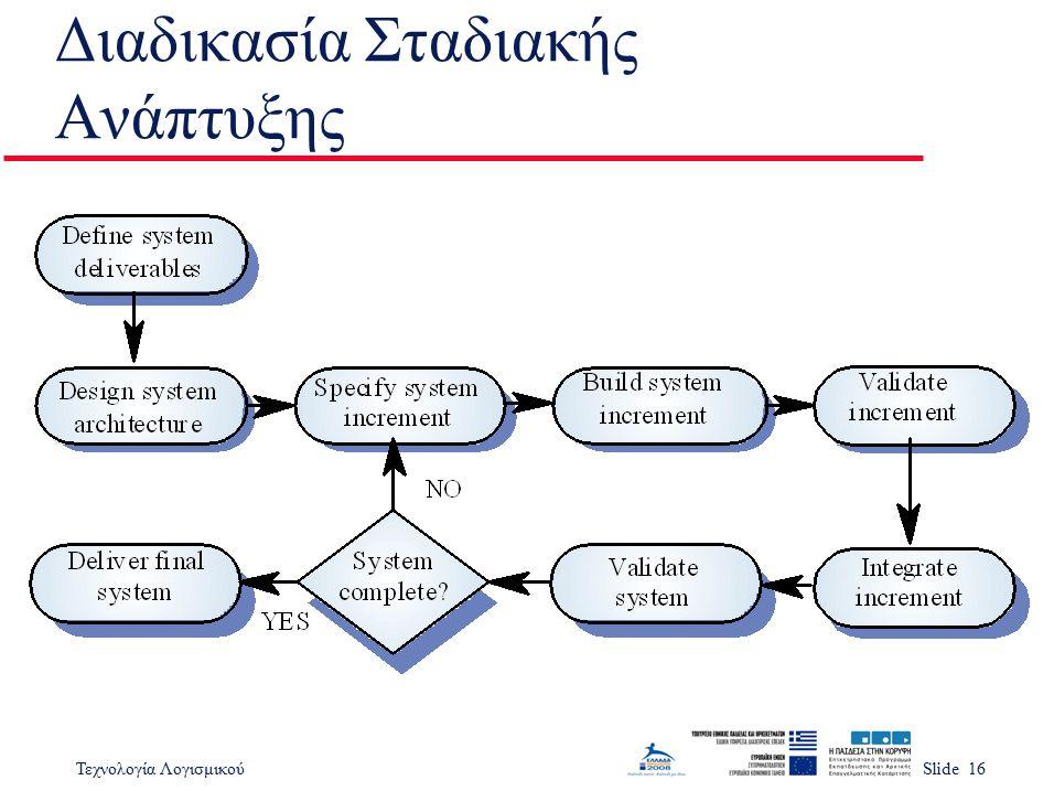 Διαδικασία Σταδιακής Ανάπτυξης