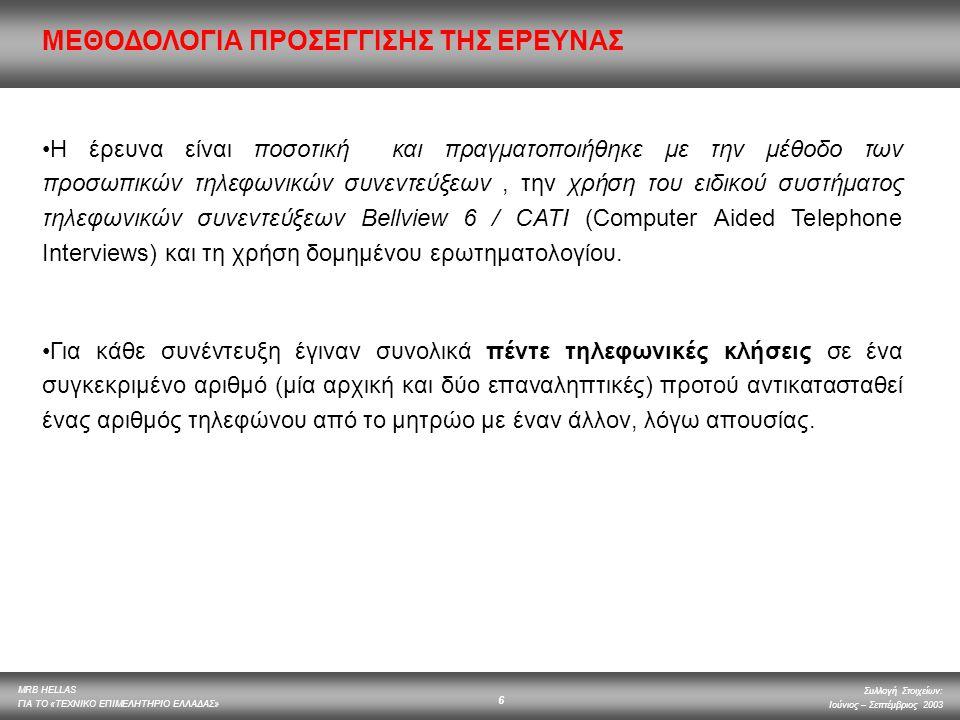 ΜΕΘΟΔΟΛΟΓΙΑ ΠΡΟΣΕΓΓΙΣΗΣ ΤΗΣ ΕΡΕΥΝΑΣ