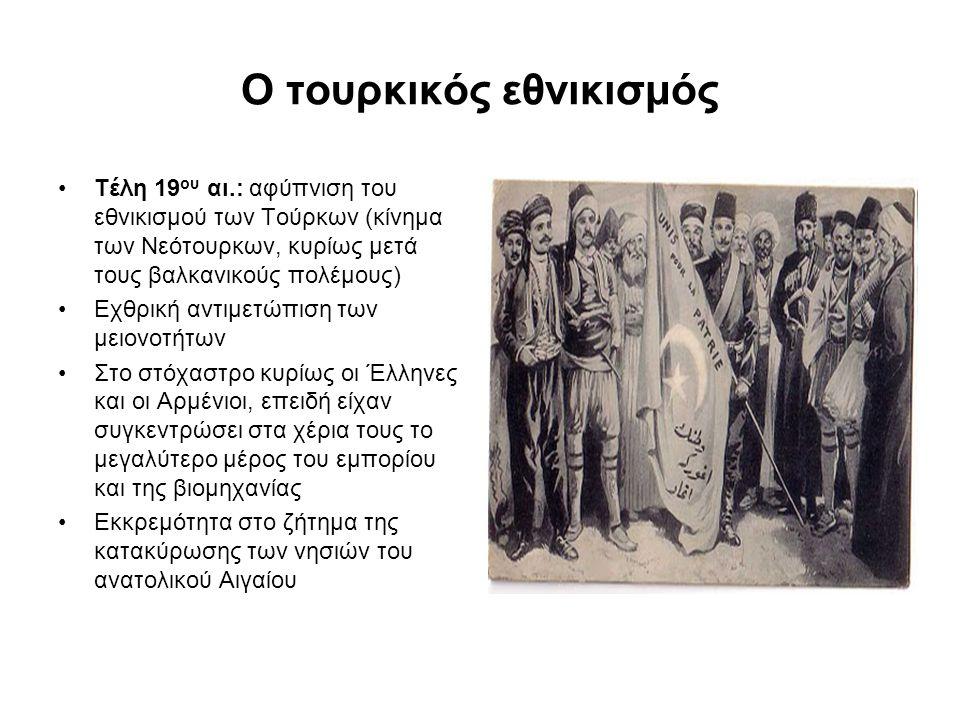 Ο τουρκικός εθνικισμός