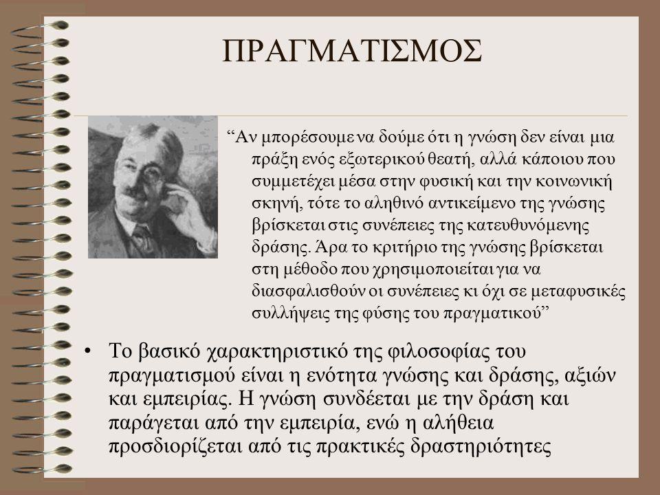 ΠΡΑΓΜΑΤΙΣΜΟΣ