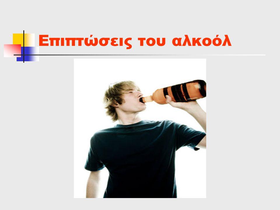 Επιπτώσεις του αλκοόλ
