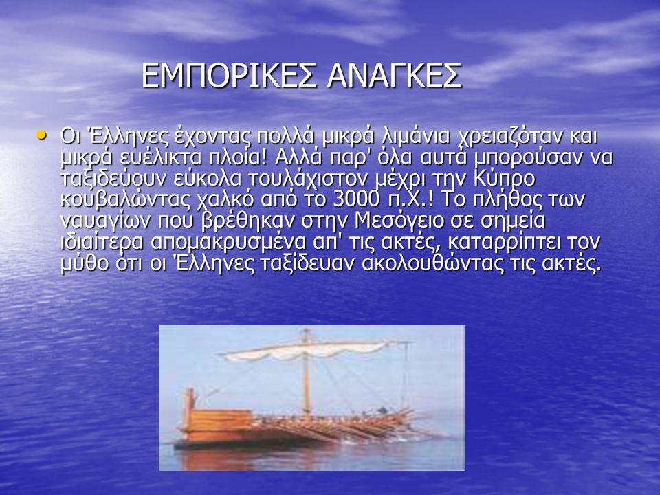 ΕΜΠΟΡΙΚΕΣ ΑΝΑΓKΕΣ