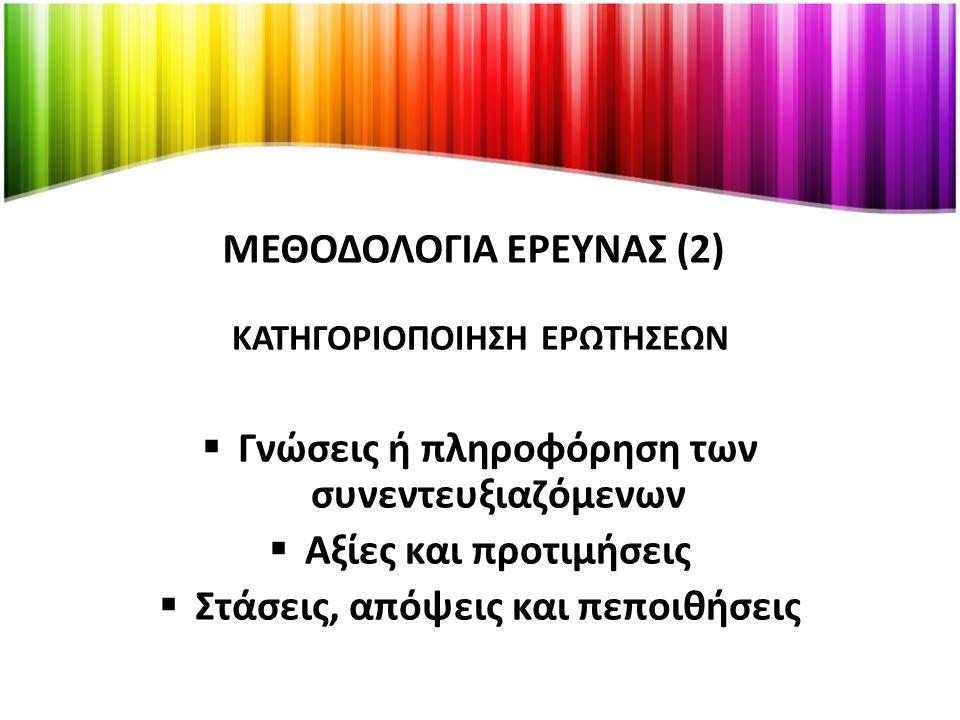 ΜΕΘΟΔΟΛΟΓΙΑ ΕΡΕΥΝΑΣ (2)