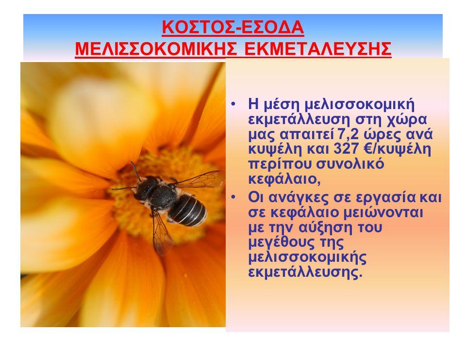 ΚΟΣΤΟΣ-ΕΣΟΔΑ ΜΕΛΙΣΣΟΚΟΜΙΚΗΣ ΕΚΜΕΤΑΛΕΥΣΗΣ
