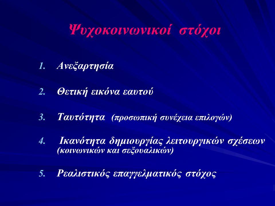 Ψυχοκοινωνικοί στόχοι