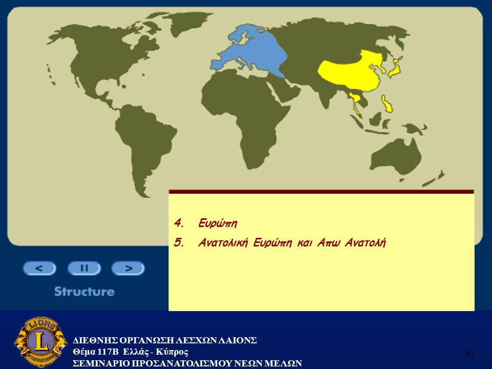 5. Ανατολική Ευρώπη και Απω Ανατολή