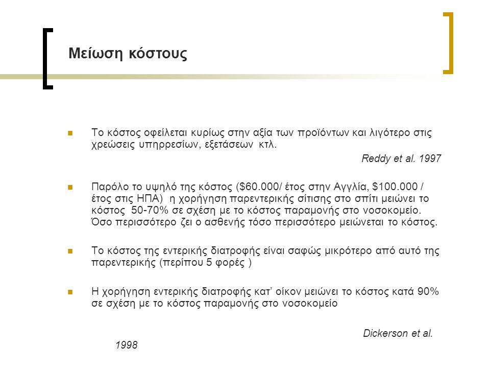 Μείωση κόστους Dickerson et al. 1998