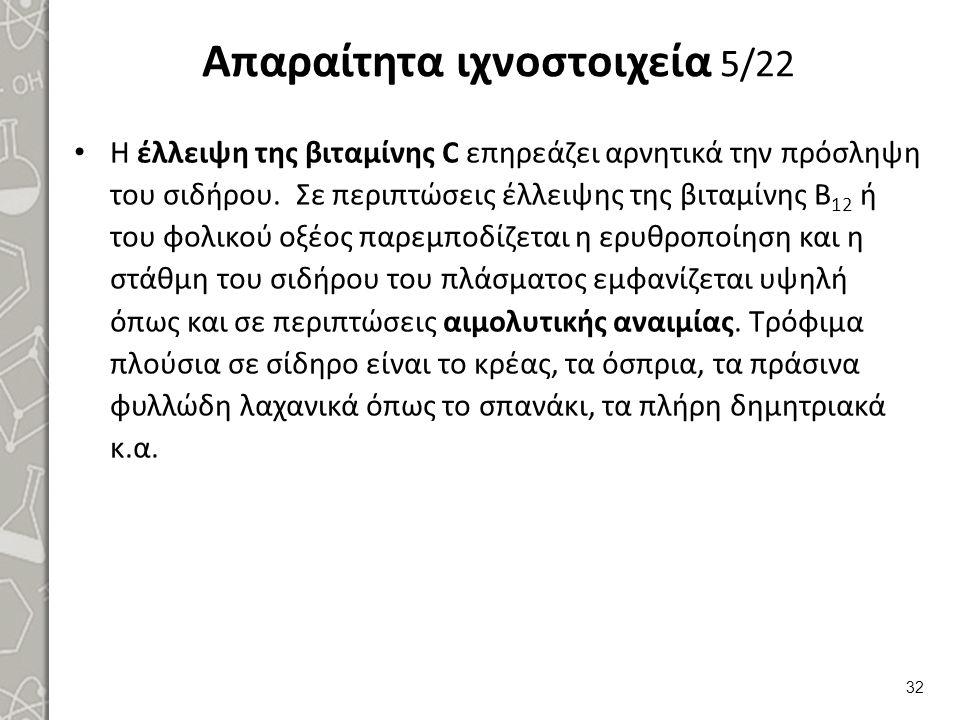 Απαραίτητα ιχνοστοιχεία 6/22