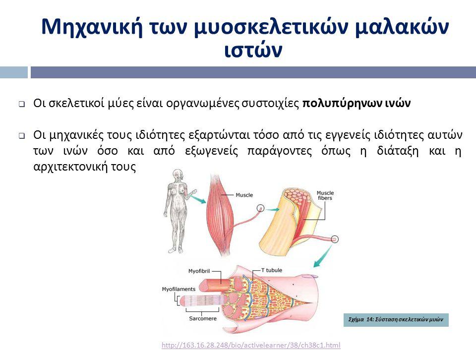 Μηχανική των μυοσκελετικών μαλακών ιστών
