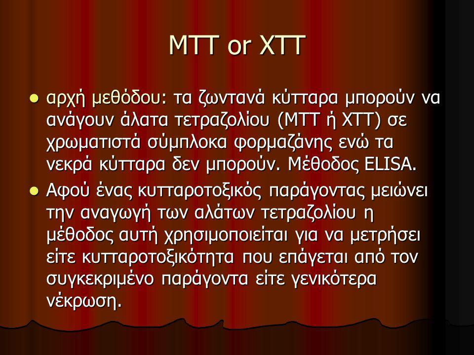 MTT or XTT