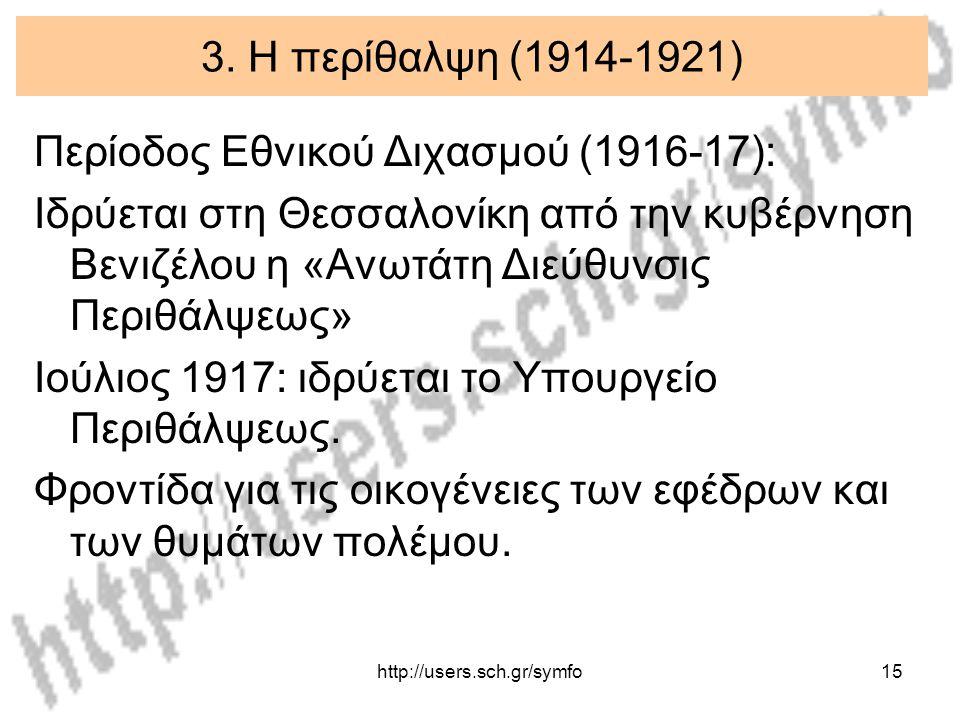 Περίοδος Εθνικού Διχασμού (1916-17):