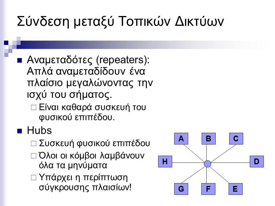 Σύνδεση μεταξύ Τοπικών Δικτύων