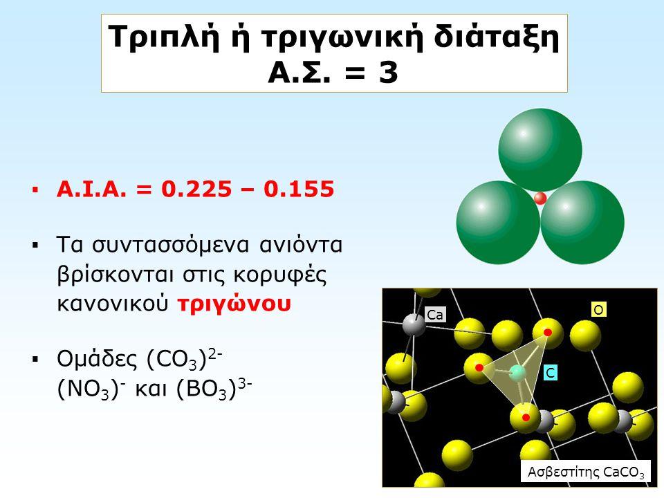 Τριπλή ή τριγωνική διάταξη Α.Σ. = 3