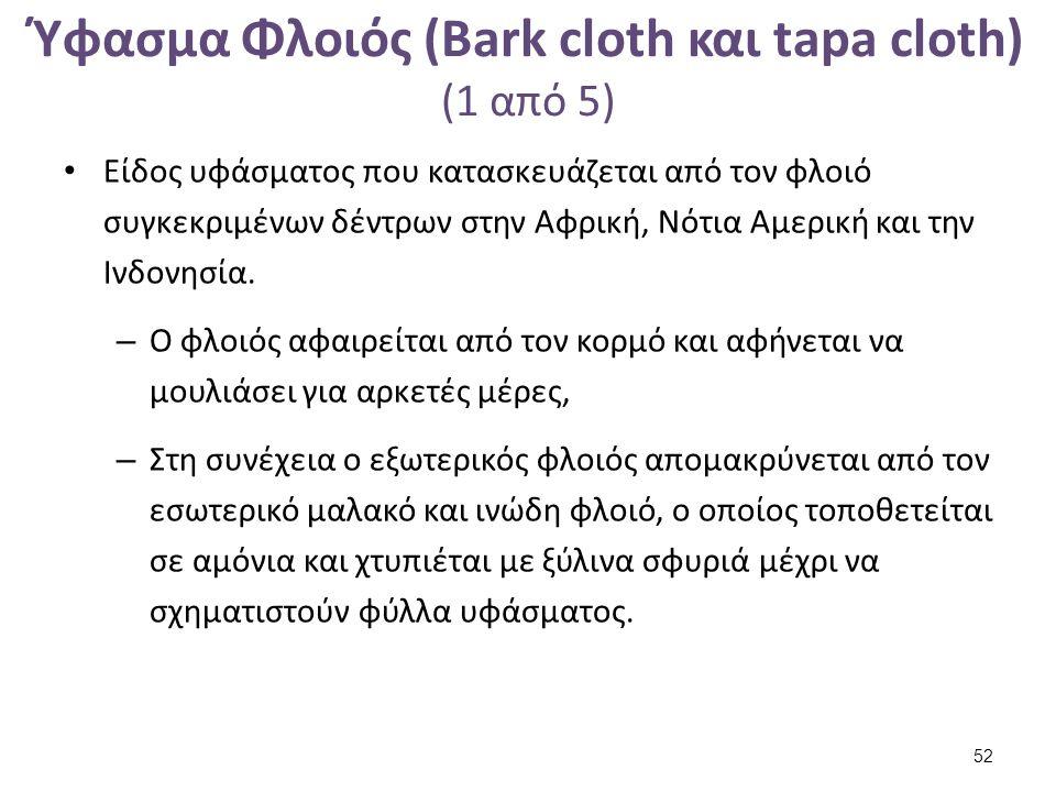 Ύφασμα Φλοιός (Bark cloth και tapa cloth) (2 από 5)