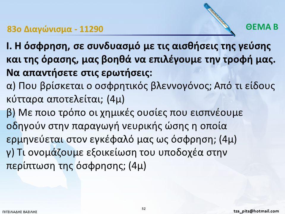 ΘΕΜΑ Β 83o Διαγώνισμα - 11290.