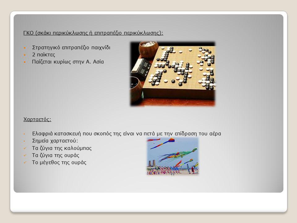 ΓΚΟ (σκάκι περικύκλωσης ή επιτραπέζιο περικύκλωσης):