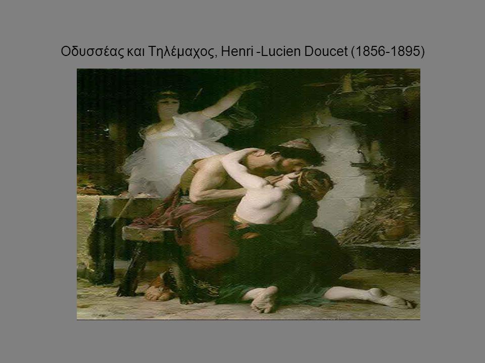Οδυσσέας και Τηλέμαχος, Henri -Lucien Doucet (1856-1895)