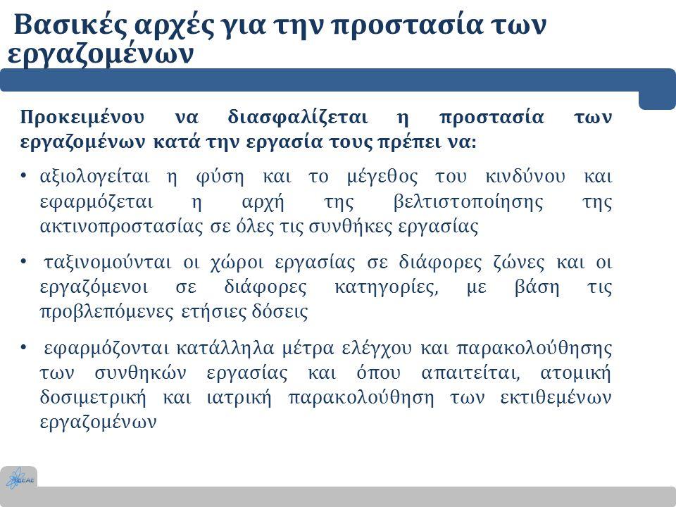 Βασικές αρχές για την προστασία των εργαζομένων