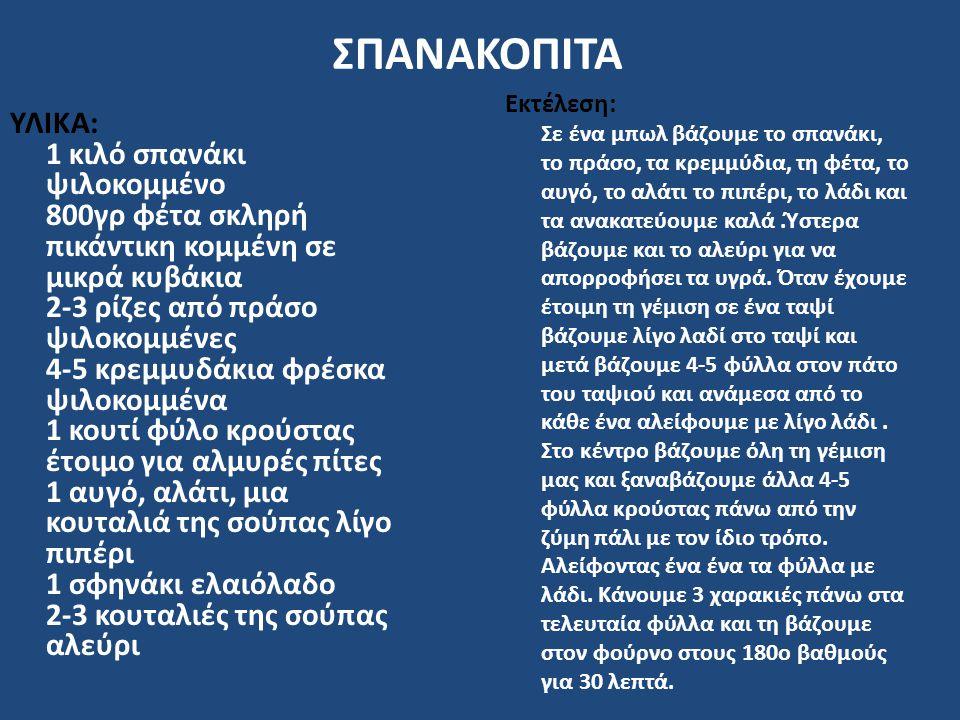 ΣΠΑΝΑΚΟΠΙΤΑ