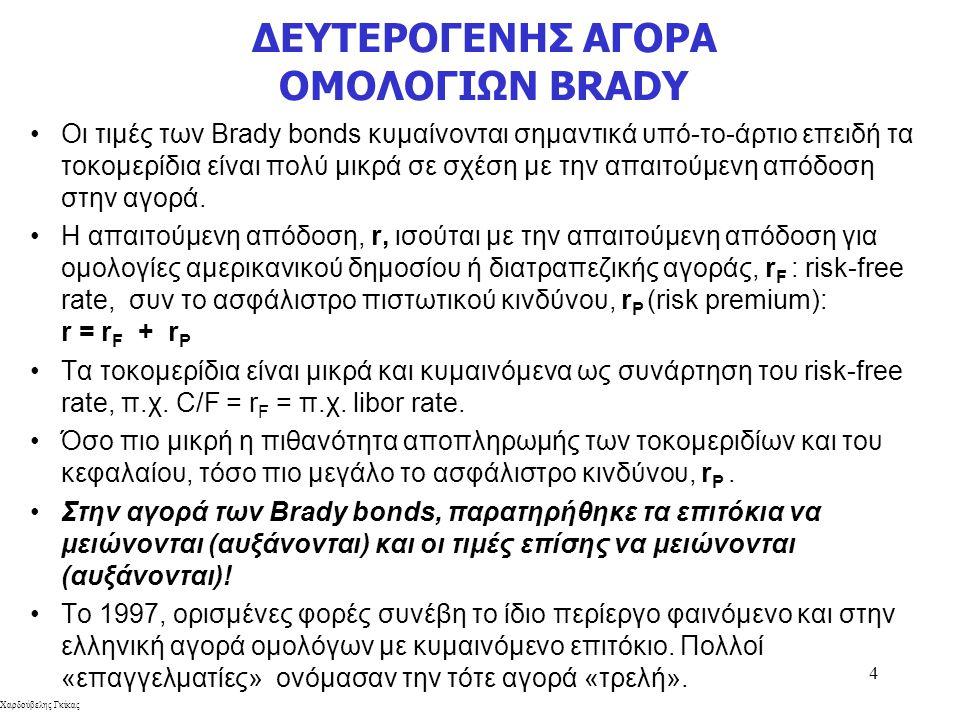 ΔΕΥΤΕΡΟΓΕΝΗΣ ΑΓΟΡΑ ΟΜΟΛΟΓΙΩΝ BRADY
