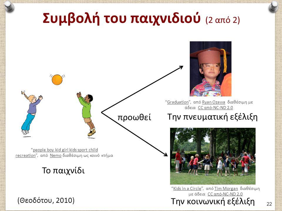 Ο ρόλος της παιδαγωγού στο παιχνίδι