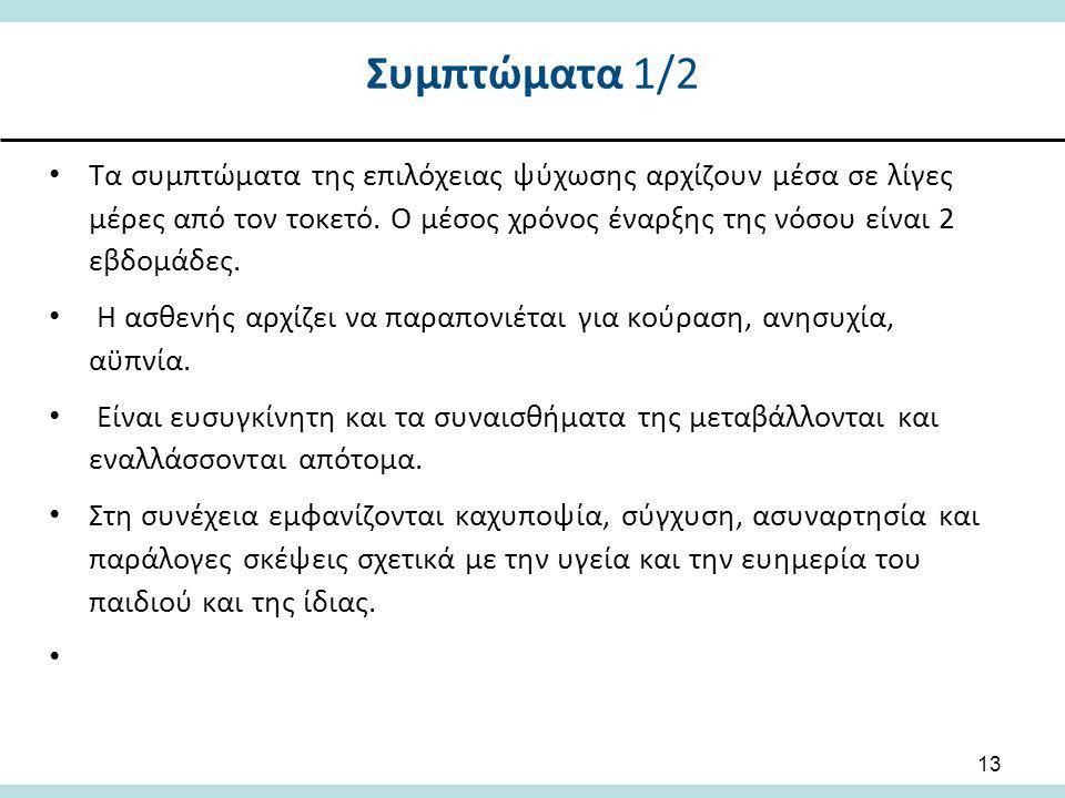 Συμπτώματα 1/2