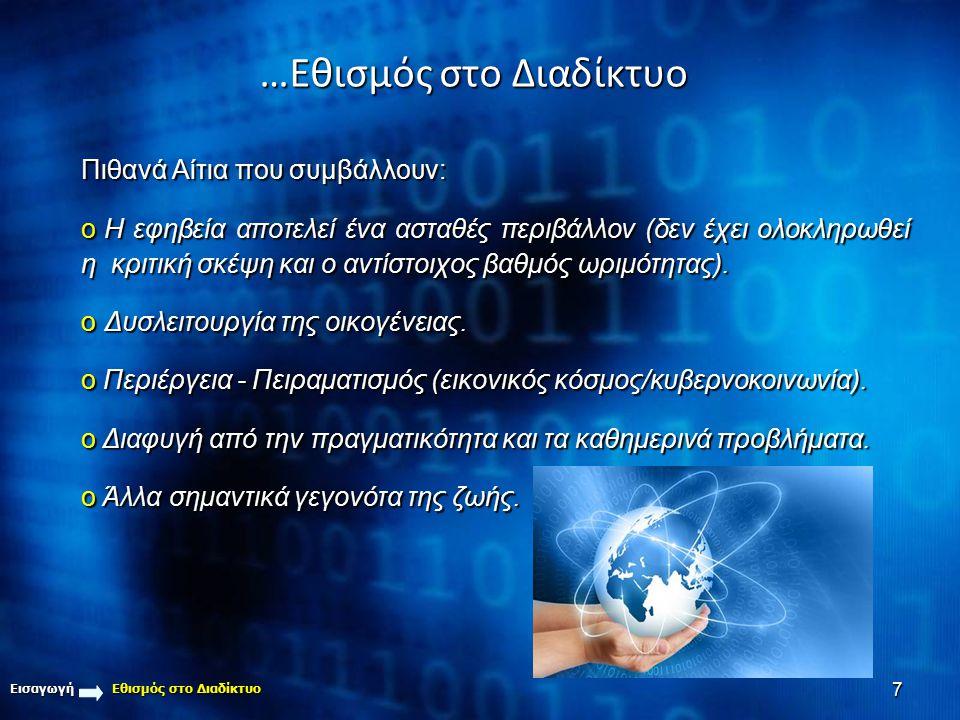 …Εθισμός στο Διαδίκτυο