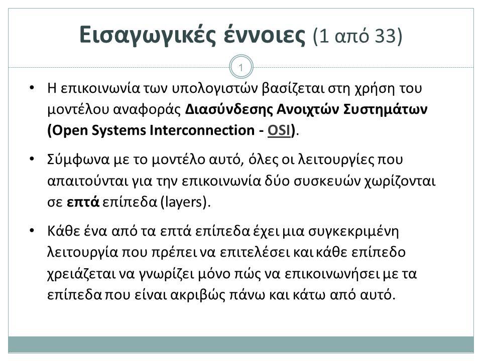 Εισαγωγικές έννοιες (2 από 33)