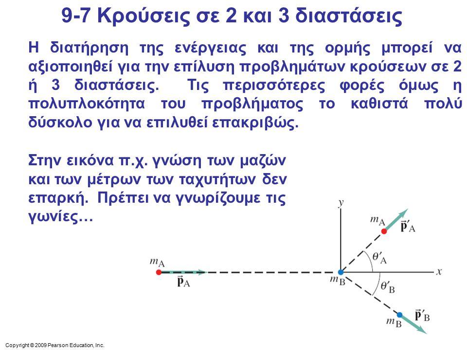 9-7 Κρούσεις σε 2 και 3 διαστάσεις