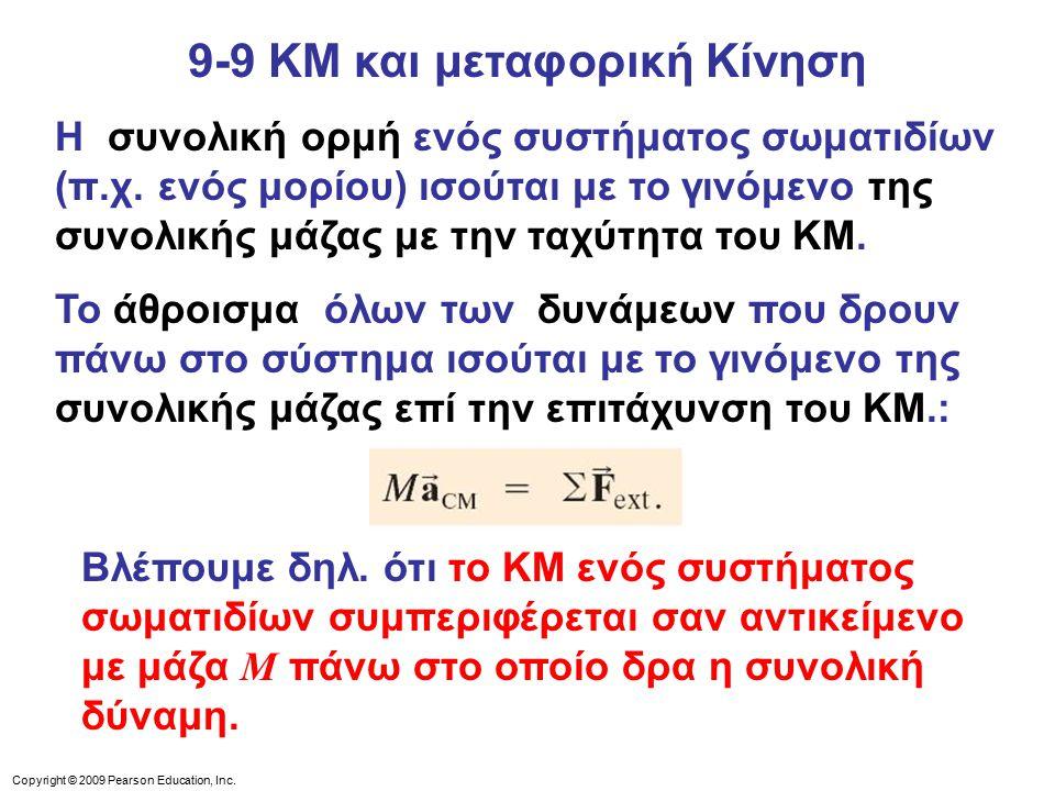 9-9 ΚΜ και μεταφορική Κίνηση