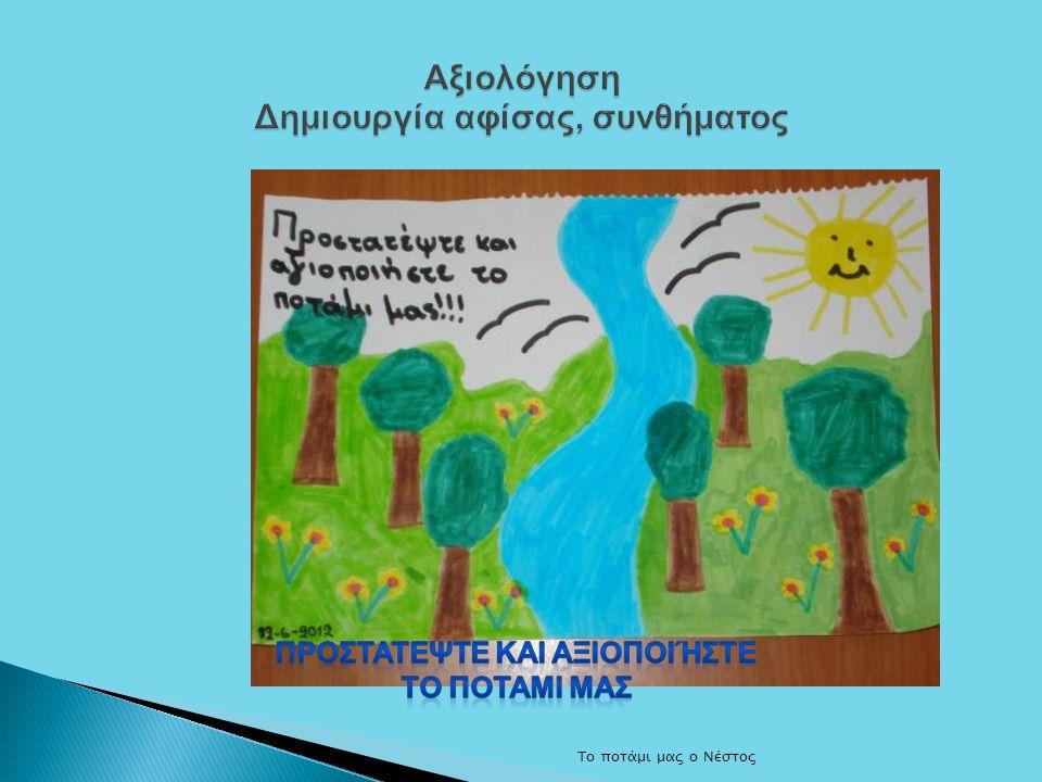 Αξιολόγηση Δημιουργία αφίσας, συνθήματος